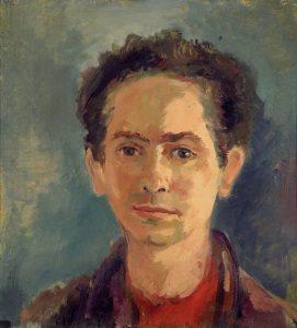 Zelfportret van Max van Dam