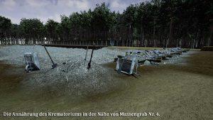 Crematorium en massagraven