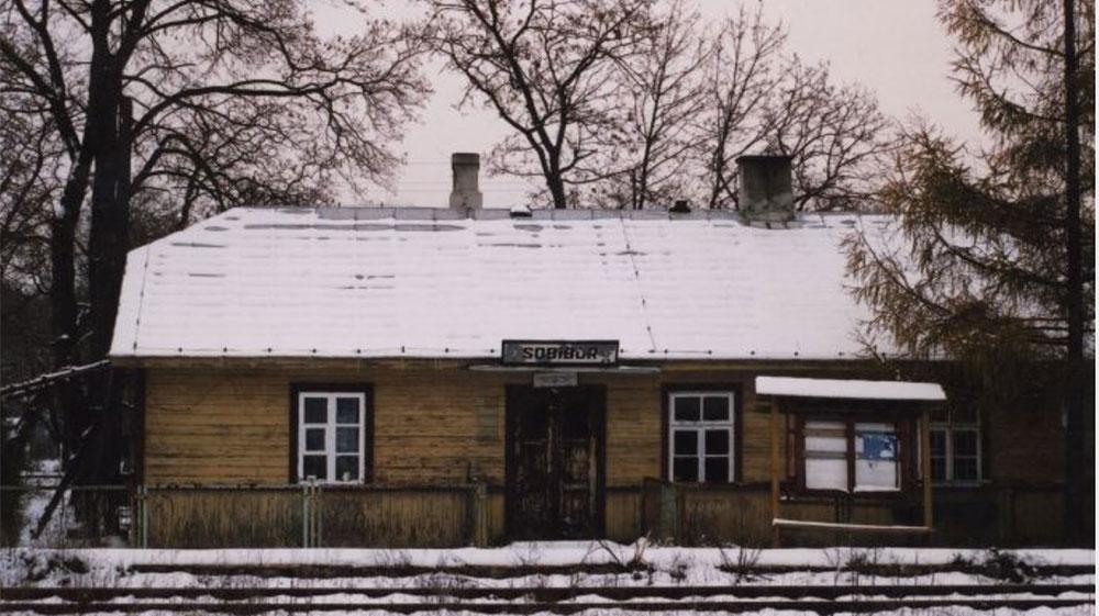 Stationsgebouw Sobibor