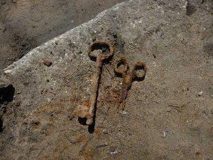 Opgegraven sleutels