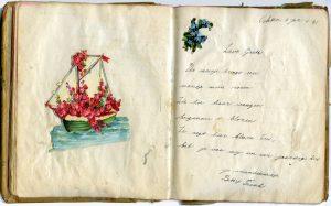 Versje in poëziealbum